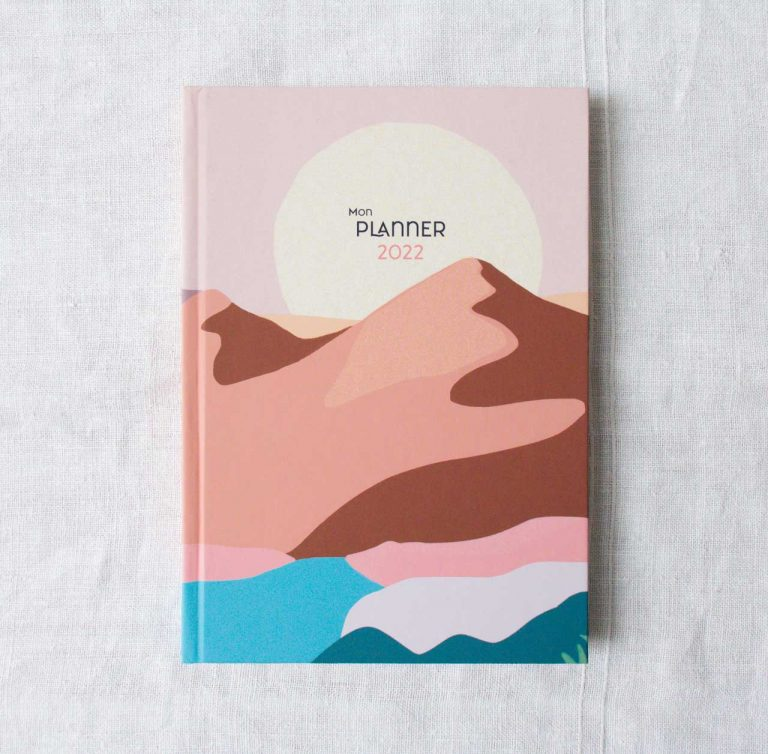 Planner 2022 - Dune Histoire d'écrire Maison Mathuvu