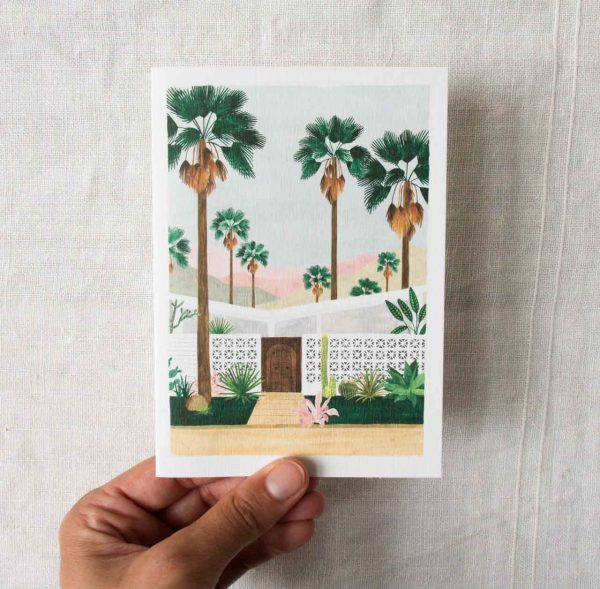 Carte - Palmspring All the ways to say Maison mathuvu