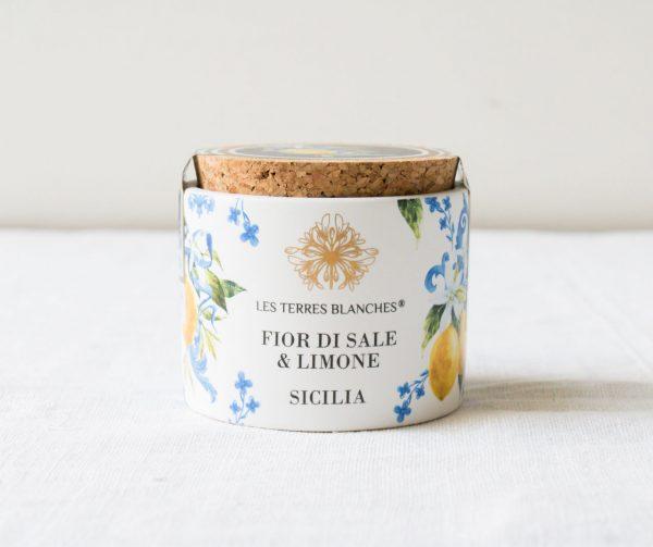 Fleur de set de Sicile - Citron Les terres blanches Maison mathuvu