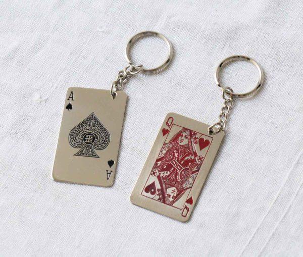 Porte-clé - Carte à jouer Chehoma Maison mathuvu
