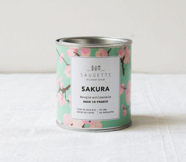 Bougie - Sakura Saugette Maison mathuvu