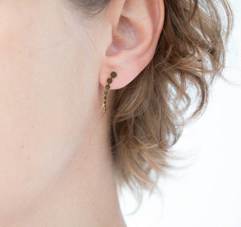 Boucles d'oreilles - Tate Climber Shlomit ofir Maison Mathûvû