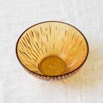 Coupelle en verre ambré Pièce chinée - maison mathuvu