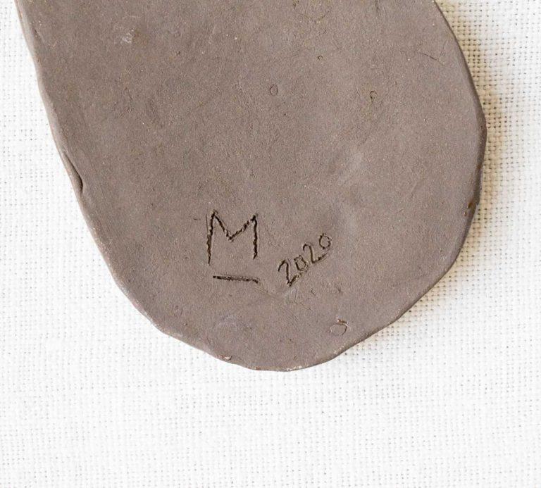 Mini vide-poche goutte marron - Brut Maiosn Mathuvu