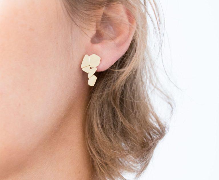 Boucles d'oreilles - Cascade Nadja carlotti - maison mathuvu