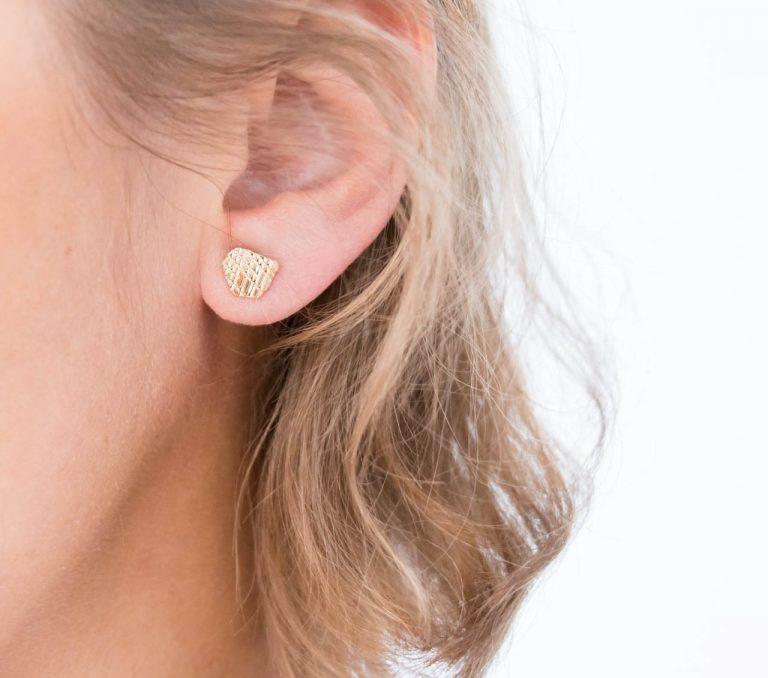 Boucles d'oreilles - Climber cailloux Nadja carlotti - maison mathuvu