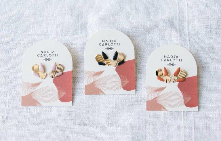 Boucles d'oreilles - Stries Nadja carlotti - maison mathuvu