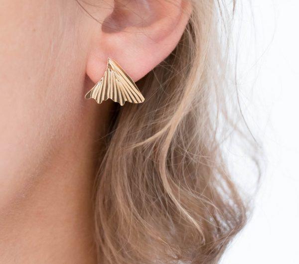 Boucles d'oreilles - Fold Nadja carlotti - maison mathuvu