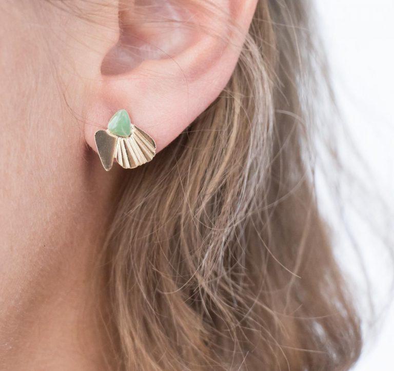 Boucles d'oreilles - Coquillage Nadja carlotti - maison mathuvu