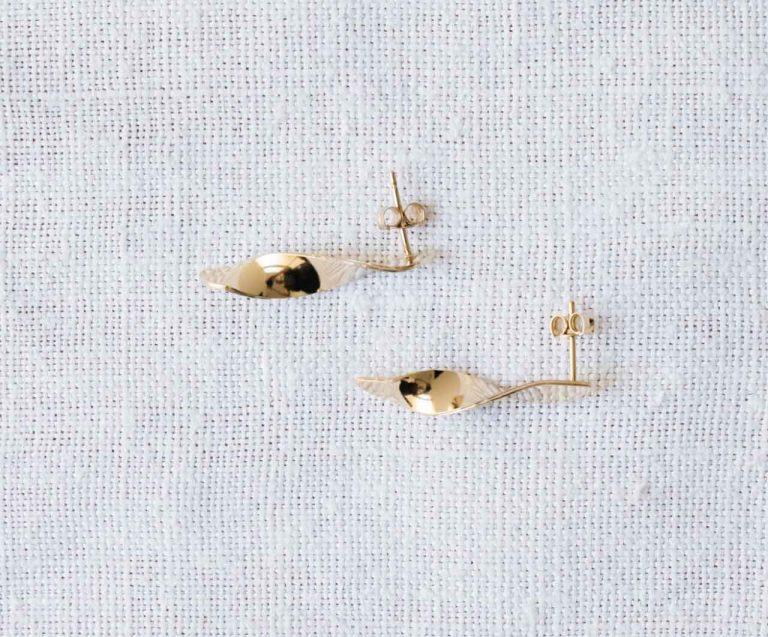 Boucles d'oreilles - Écume Nadja carlotti - maison mathuvu