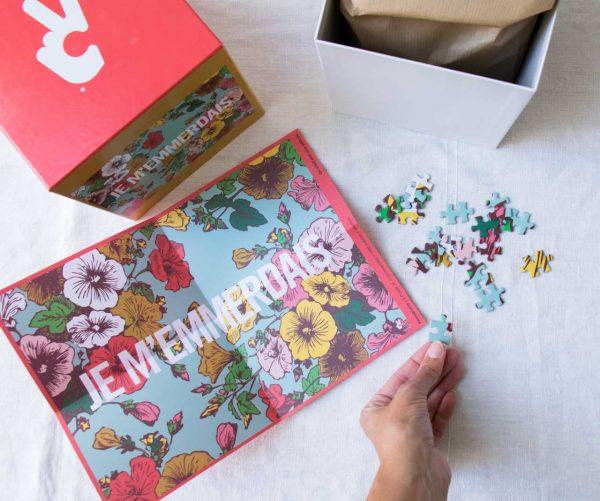 Puzzle - Je m'emmerdais Piece & Love Maison Mathûvû