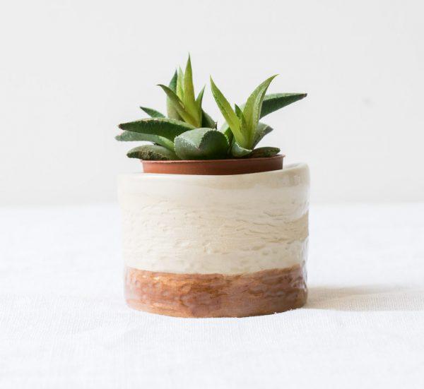 Cache-pot - Arty rouille Maison mathuvu