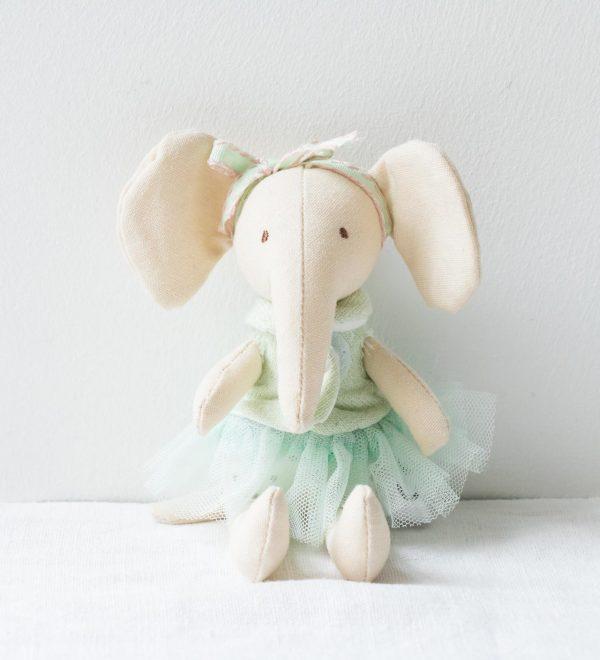 Peluche - Éléphant Bloomingville - maison mathuvu