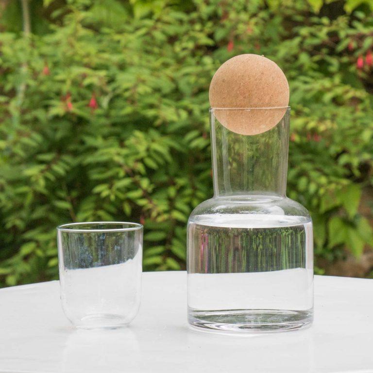 Carafe en verre - Lito Bloomingville - maison mathuvu