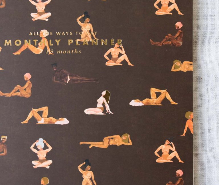 Agenda mensuel - Women All the ways to say - maison mathuvu