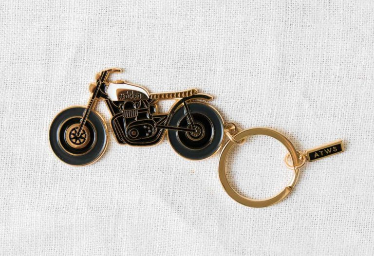 Porte clé - Biker all the ways to say - maison mathuvu