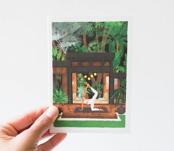 Carte - Yoga all the ways to say - maison mathuvu