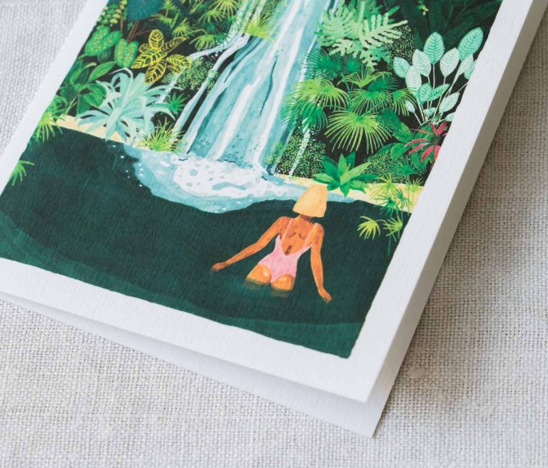 Carte - Waterfall all the ways to say - maison mathuvu