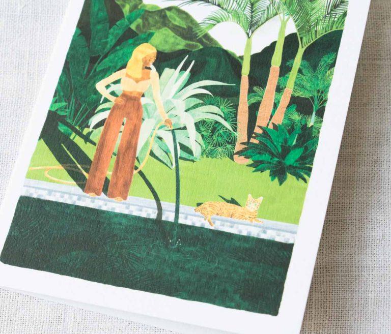 Carte - Bord de piscine all the ways to say - maison mathuvu