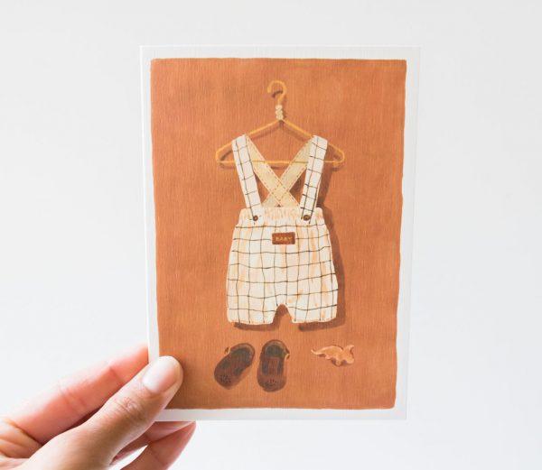 Carte - Baby all the ways to say - maison mathuvu