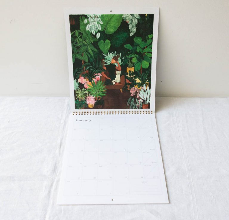 Calendrier 2022 - Botanical all the ways to say - maison mathuvu