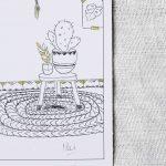 Carte - Cactus Laurence Paris - maison mathuvu