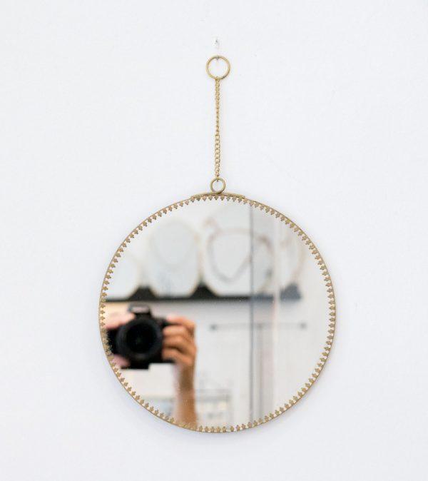 Miroir festonné Chehoma - maison mathuvu
