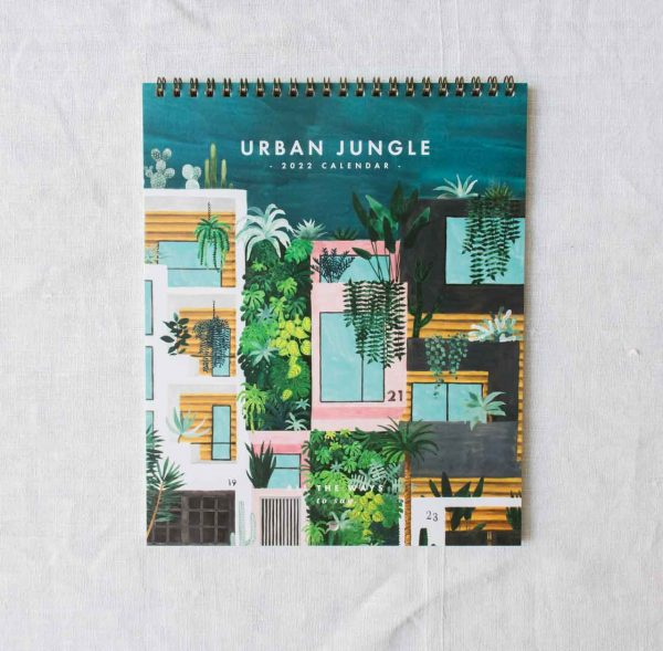Calendrier 2022 - Urban jungle all the ways to say - maison mathuvu