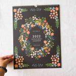 Calendrier 2022 - Rendez-vous Rifle paper co - maison mathuvu