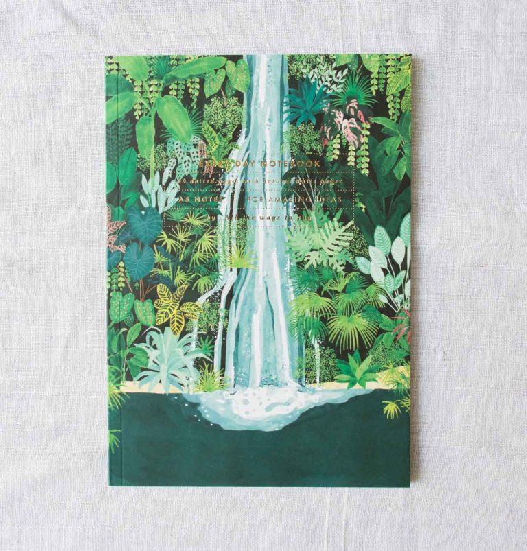 Carnet A5 - Waterfall all the ways to say - maison mathuvu
