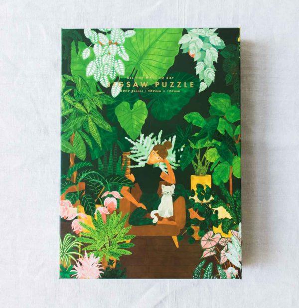 Puzzle - Plant addict all the ways to say - maison mathuvu
