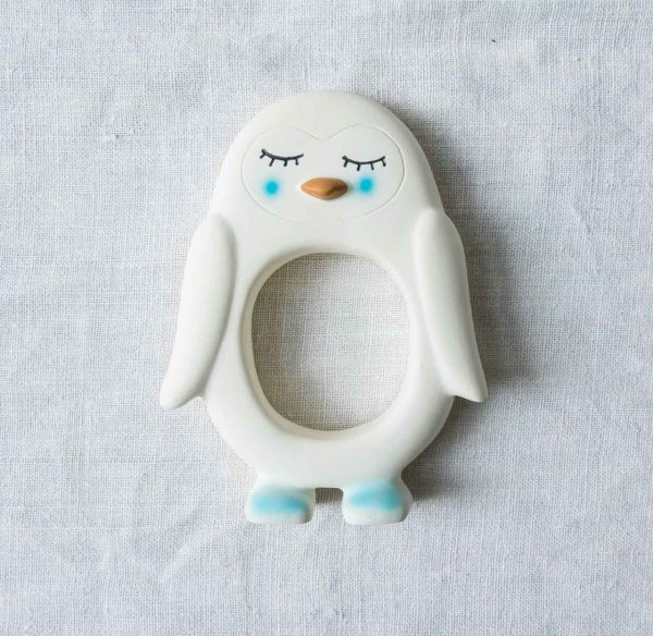 Anneau de dentition - Pingouin Oyoy - maison mathuvu