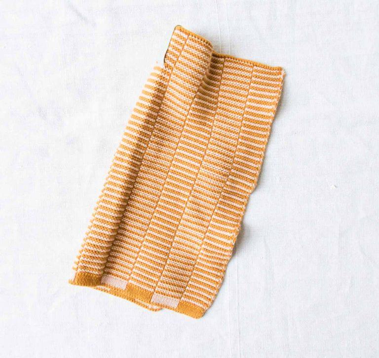 Mini serviette Stringa - Orange Oyoy - maison mathuvu