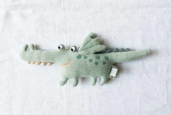 Crocodile - Rattle darling Oyoy - maison mathuvu