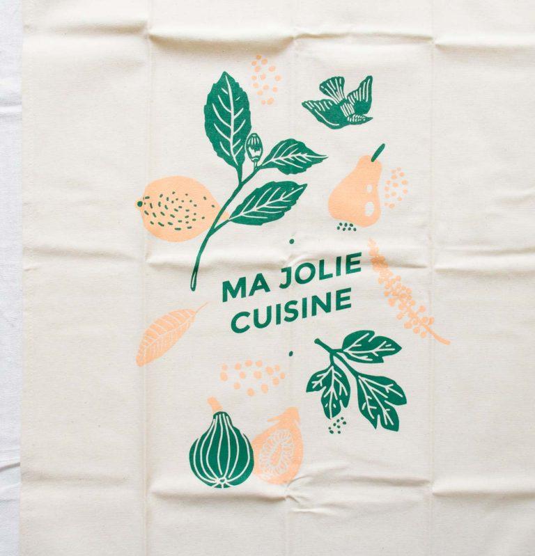 Torchon - Happy fruit Les éditions du paon - maison mathuvu