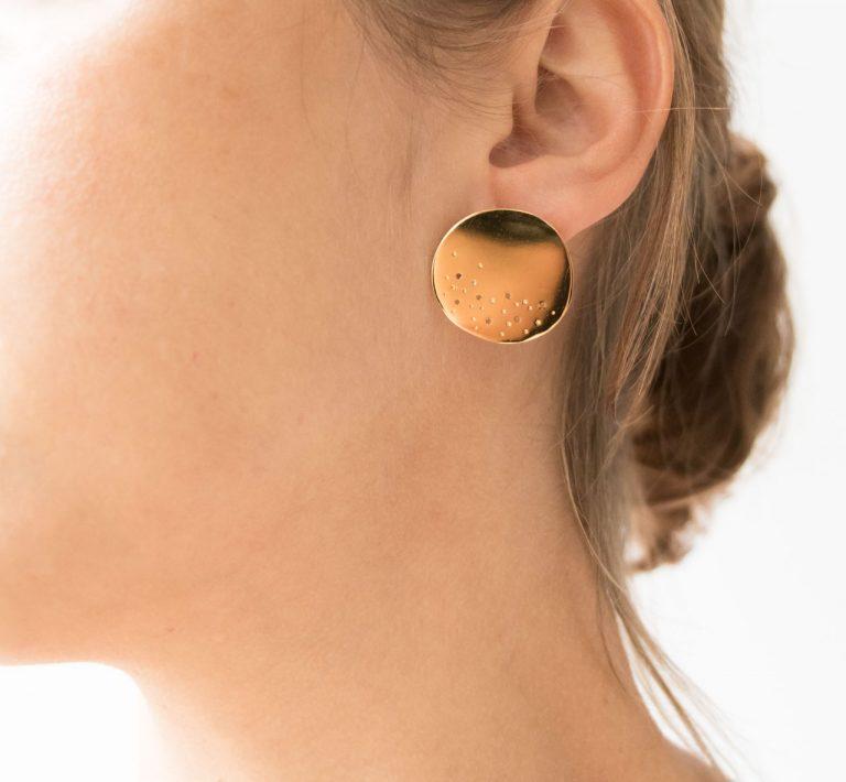 Boucles d'oreilles - Mouna L'établi Sauvage Maison Mathûvû