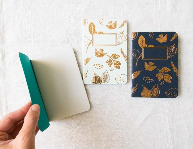 Petit carnet - Happy fruit les éditions du paon - maison mathuvu