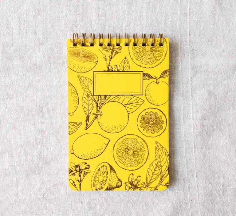 Bloc-notes - Lemonade les éditions du paon - maison mathuvu