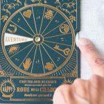 Carte Roue de la chance - Sapin Les éditions du paon - maison mathuvu