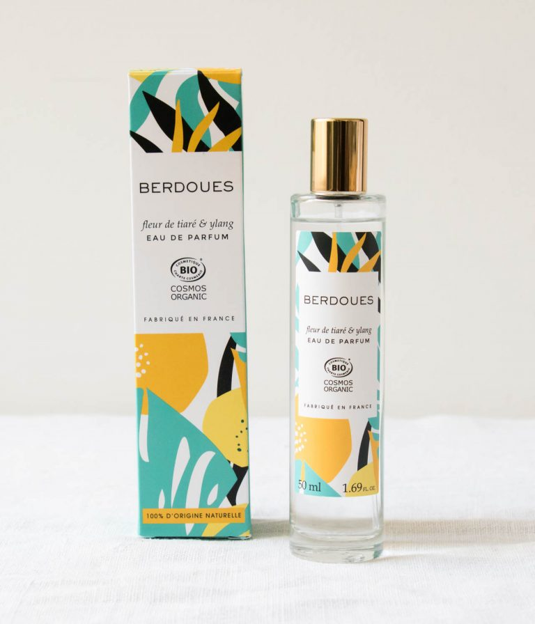 Eau de parfum - Fleur de Tiaré & Ylang Berdoues - maison mathuvu
