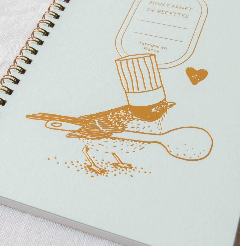 Carnet de recettes - Petit chef les éditions du paon - maison mathuvu