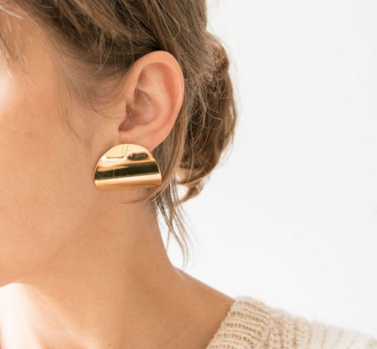 Boucles d'oreilles - Lunaire L'établi Sauvage Maison Mathûvû
