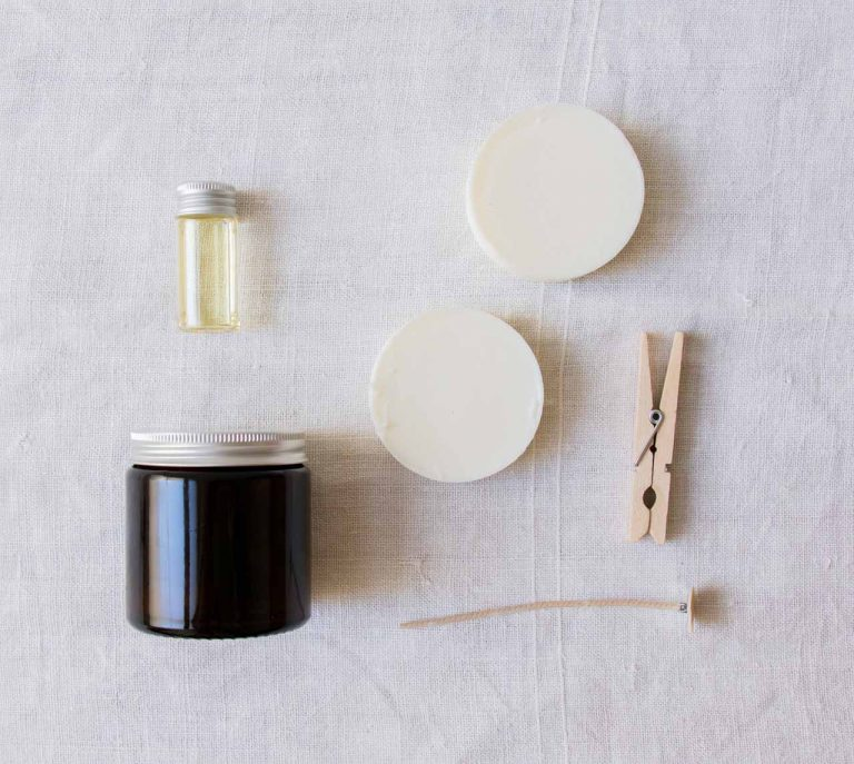 Kit de bougie DIY - Faire Samo - maison mathuvu