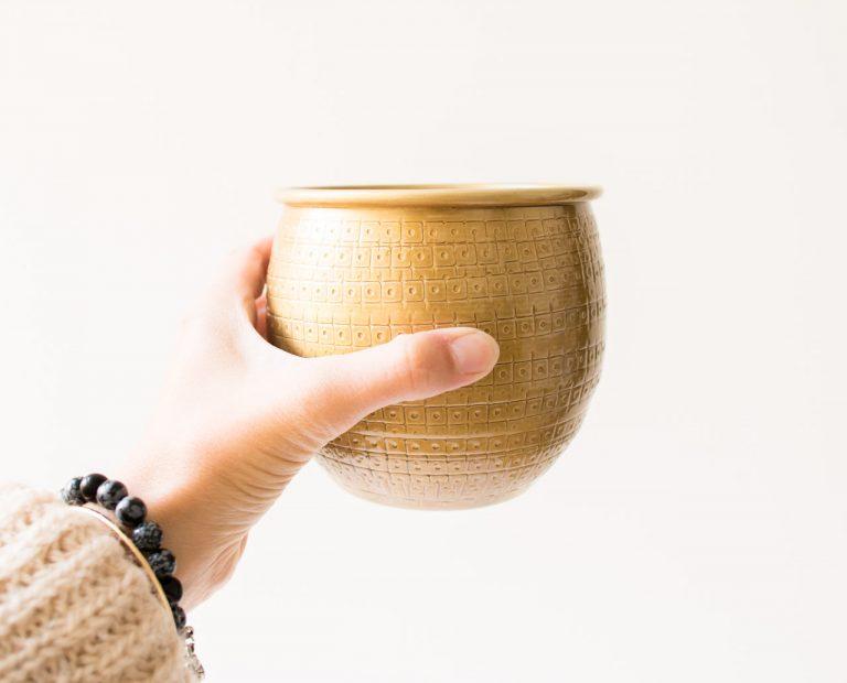 Cache-pot - Tembesi nkuku - maison mathuvu