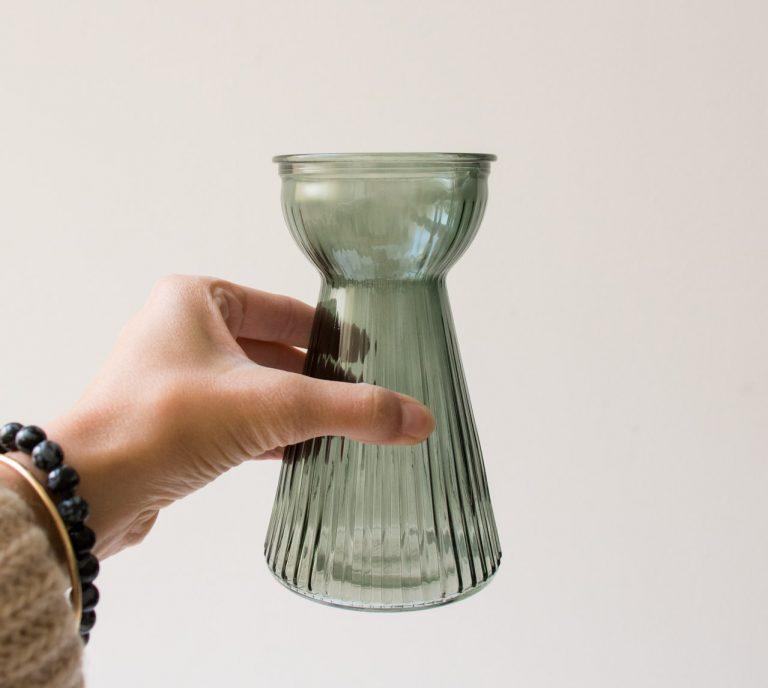 Vase - Adriane vert bloomingville - maison mathuvu