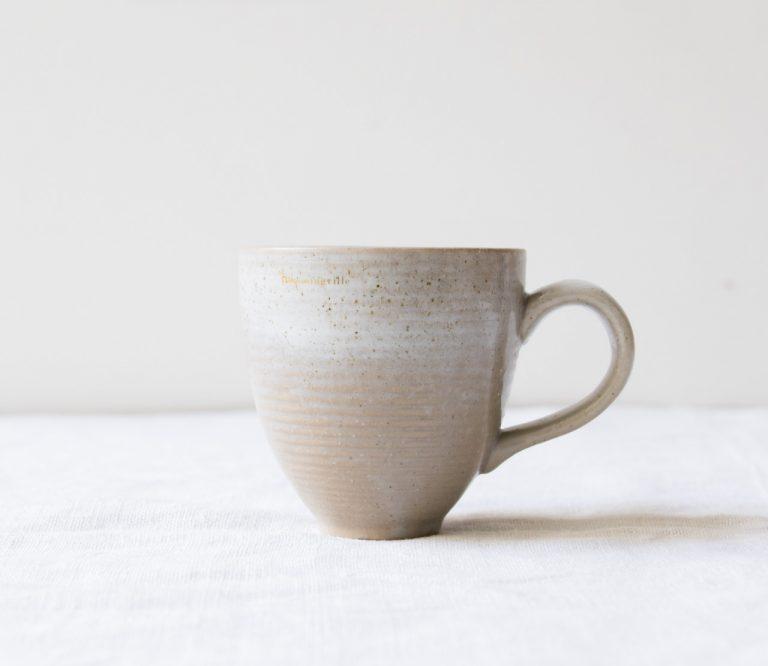 Tasse à café - Taupe bloomingville - maison mathuvu