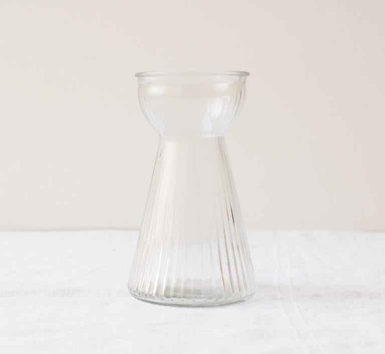 Vase – Adriane transparent bloomingville - maison mathuvu